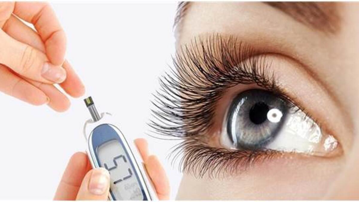 Diyabet ilk olarak göz muayenesinde
