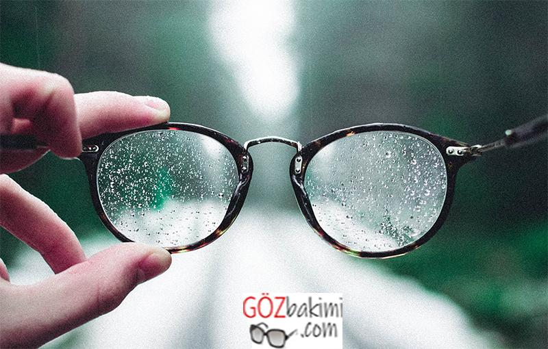 Çizilen gözlük ve güneş gözlüğü camları