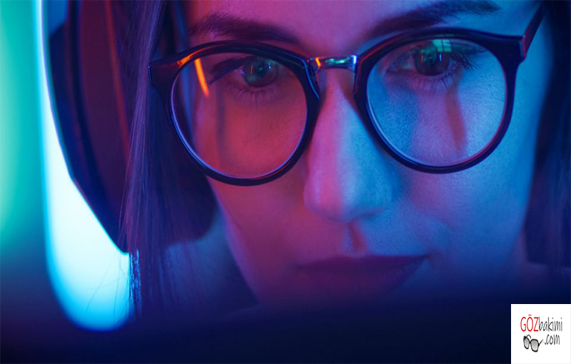 Mavi Işık Kırıcı Gözlükler